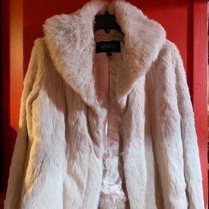 Guess Rabbit Fur Jacket